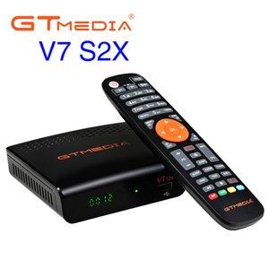 GTMEDIA FREESAT V7 S2X HD FTA Digital TV satellitare ricevitore DVB-S2 / s Supporto Bisskey 1080P Aggiornamento Aggiornamento Freest V7S Nessuna antenna WiFi