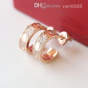 [With box] Designer Earrings Pendant stud Love Necklaces Screw Earring carti Party Wedding Couple Gift Bracelet Fashion Luxury afssdfsdjhkjhxxx