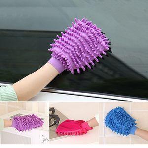 21*16CM Microfiber Chenille Washing Gloves Coral Fleece Anthozoan Car Sponge Wash Cloth Care Cleaning ZWL279