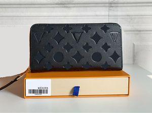 2021 Fashion flowers designer wallets luxurys Men Women leather bags High Quality Classic Letters Key coin Purse Original Box Plaid card holder M60017C
