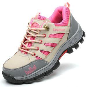 2021 Новая стальная носящая работа женщины Womer Wild Works Boots для сетки женщин легкий дышащий противоскользящий нескользящий защитная защитная обувь