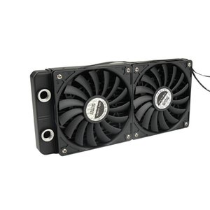 Fans & Coolings OCOCOO 120mm 240mm Radiator Kit Ultra-thin Fan Cold Drain Cooling Quiet Fit For PC Equipment DIY