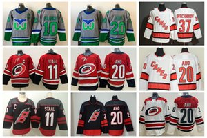 2021 Carolina Hurricanes Hockey Jerseys Mens Staal Jersey Sebastian Aho Andrei Svechnikov Dougie Hamilton Martin Necas Martinook Nino Niederreiter Stitched
