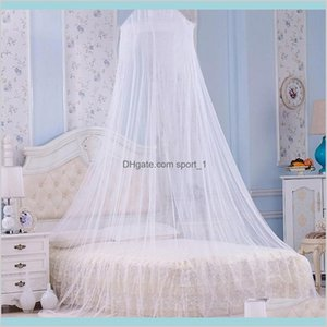 Mosquito Net Bedding Supplies Home Textiles & Garden Elgant For Double Bed Repellent Insect Reject Canopy Curtain Tent Drop Delivery 2