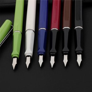 High Quality 1515 Fine Nib Fountain Pen Fashion Colour Student School Office For Financial Stationery Supplies Ink Pens