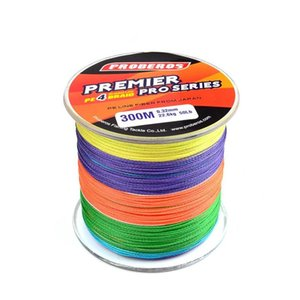 Sports & Outdoors Drop Delivery 2021 300Meters Multicolor Lines 4 Weaves Braid Available 6Lb-100Lb Pe Line Pesca Fishing Tackle Accessories I