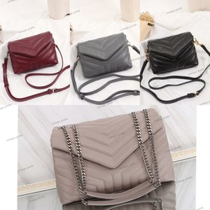 Newset Classic Jumbo genuine leather LOULOU Shoulder bags luxury designer Large Shape Flap Chain Bag Handbag Women Clutch Messenger Tote Crossbody Purse Shopping