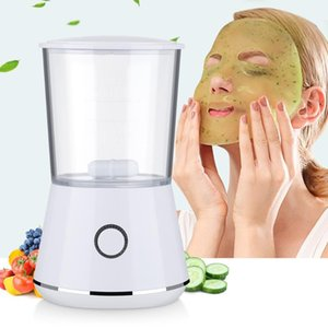 Cleaning Face Mask Machine DIY Fruit Vegetable Facial Natural Collagen Whitening Moisturizing SPA Beauty