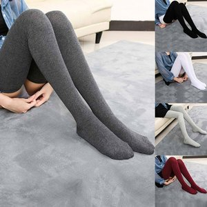 Socks & Hosiery Womens Long Over Knee Tights Pantyhose Highs Autumn Winter Thigh High Length Stockings