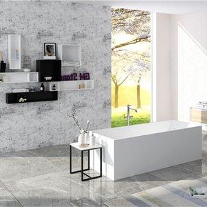 Moderner Umweltschutz Acryl, Bad, klassischer ovaler, europäischer Retro integriert in matt- oder leichter Fabrikauslassung