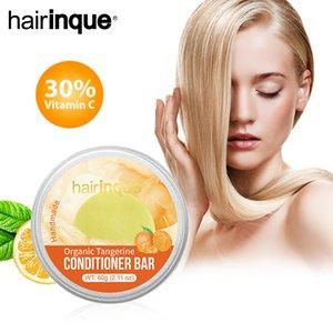 HAIRINQUE Organic hair tangerine conditioner bar handmade inlcude VITAMIN C moisturising hair solid conditioner bar