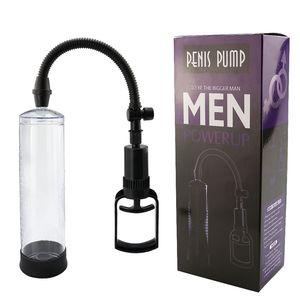 Enlargement Vacuum Pump Extender Sex Toys Penis Enlarger Extension Adult Sexy Product for Men proextender 210326
