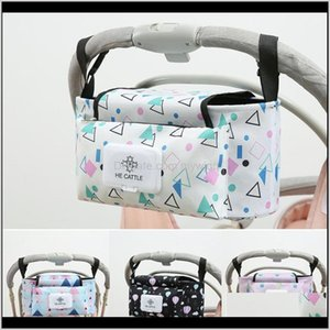 Parts Strollers Baby, Kids & Maternity Drop Delivery 2021 Cartoon Animal Cup Bottle Holder Diaper Bag Universal Baby Pram Nappy Bags Stroller