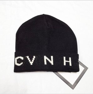 Designer Knitted Beanie Caps for Men Women Autumn Winter Warm Thick Wool Embroidery Cold Hat Couple Fashion Street Hats