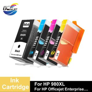 Ink Cartridges 4 PCS Third Party Brand For 904XL Cartridge Applicable To South America With Compatible OfficeJet Pro 6970