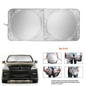 Car Sunshade 190cm*90cm Foldable Windshield Sun Shade Umbrella UV Cover Heat Insulation Front Window Interior Protection