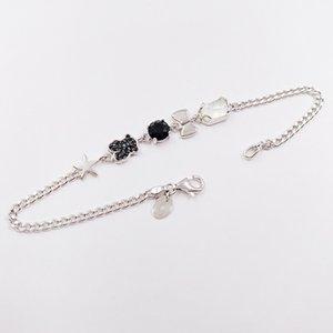 Аутентичные браслеты стерлингового серебра 925 серебристый браслет серебряные подходит для европейского медведя в стиле ювелирных изделий 512791500