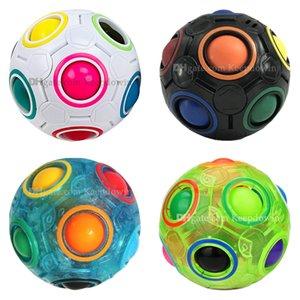 Rainbow Ball Fidget Кубики Игрушки Головоломки Волшебные Шарики Стресс Средства Средства для детей Взрослые Мозговые тизеры
