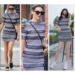 women's ]2021 spring new ins net red chic kendou same casual ultra short cotton hemp wrapped knitted dress
