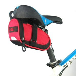 Cycling Bags B-SOUL Portable Waterproof Bike Seat Pouch Bicycle Tail Rear Pannier Small