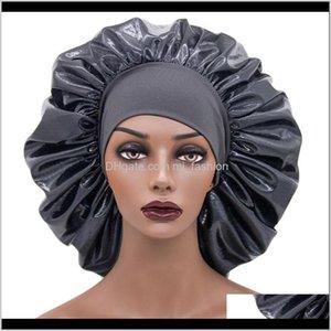 Beanie Skull Hats Caps Hats, Scarves & Gloves Fashion Aessoriesextra Large Bonnet Sleep Cap Elastic Wide Band Hair Turban Night Hat Metallic