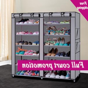 6 Layers Dust cap rack Non Woven Shoe Board Storage Bedroom Hal Kast Home Organizer