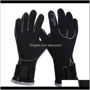 Fins M Neoprene Scuba Dive Gloves Snorkeling Equipment Anti Scratch Keep Warm Wetsuit Material Winter Swim Spearfishing Sfmjh Znzyn