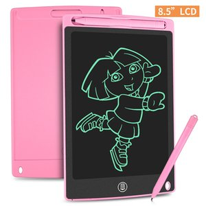 8.5 Inch Smart LCD Hand-Writing Electronic Notepad Tablet Kids Drawing Graphics Handwriting Board Educational Toy Button Battery