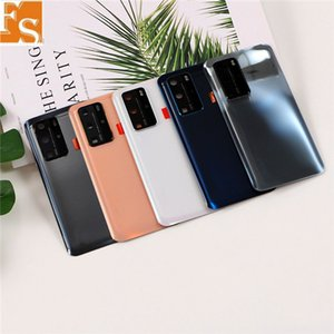 2022 Hot 100PCS OEM Battery Door Back Housing Cover Glass Cover for Samsung Galaxy S20 Plus Ultra with Camera Lens Adhesive Sticker free DHL