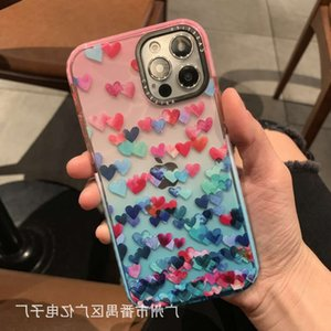 Suitable for casetify full screen small love 12promax 11 mobile gradient XS soft shell XRCell phone Accessories