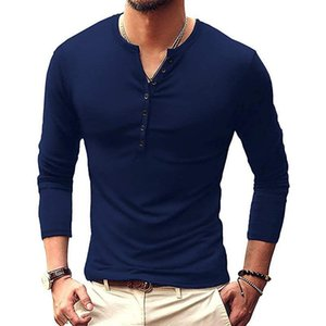 Men's Long Sleeve Large T-shirt Clothing Men's T-shirt