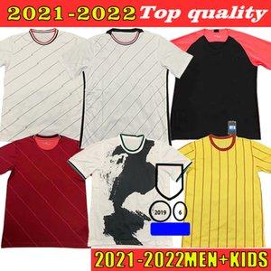 2021 2022 Soccer Jersey VIRGIL FIRMINO MANé M. SALAH HENDERSON ROBERTSON Fans Version Home Away Adult + Kids sports football shirt