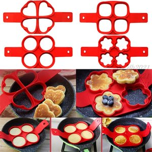 Baking Mould Silicone Non Stick Fantastic Egg Pancake Maker Ring Kitchen Baking Omelet Free Moulds Flip cooker Egg Ring Mold