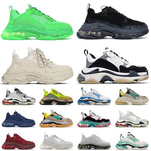balenciaga balenciaca triple s Paris Platform 17FW Designer Flat Casual Shoes Vintage Sneakers Clear Sole Triple-s Uomo Donna Luxurys Leisure Mocassini Old Dad Trainers Outdoor
