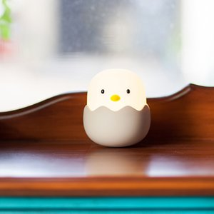 Night Light for Kids Baby Nursery Lamp with Touch Controls Cute Chick Bedside Lamp for Breastfeeding USB Rechargeable Light GWA5185