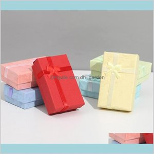 Boxes Packaging Assorted Colors Jewelry Sets Display Box Necklace Earrings Ring Drop Delivery 2021 Ldri9