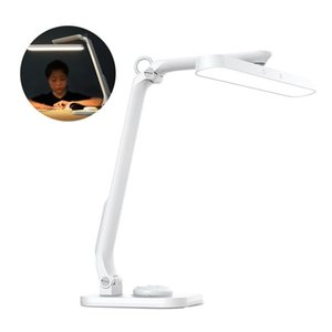 Table Lamps LED Desk Lamp 360 Degrees Rotary Touching Light Stepless Dimming Bedside Color Rendering With Remote Control