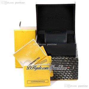 2021 близоруко смотреть коробки включает в себя полный набор ручной буклет бумаги сумочка супер издание аксессуары FM черная кожаная коробка PureTime