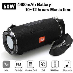 TG187 Bluetooth Speaker 50W 4400mAh Wireless Waterproof Outdoor Speakers Bar Music Center Subwoofer 3D Stereo Support USB FM