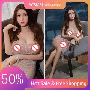 Muñeca de sexo Menor medio TPE Japanese Silicone Robot Juguetes orales Adultos Lifelike Vagina Anime para hombres