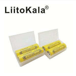 LiitoKala Lii-40A original 21700 4000mAh 40A rechargeable battery suitable for CAPO LED lighting equipment power tools