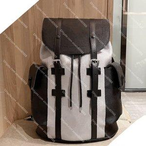 Männer Frauen Echtes Leder Marke Christopher Rucksack Luxus Designer Rucksäcke Top-Qualität Satchel Schultasche Zurück Packung