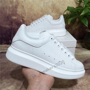 Kutu ile Lüks Kadife Erkekler Bayan Tasarımcı Beyaz Erkek Ayakkabı Espadrilles Flats Platformu Büyük Boy Rahat Espadrille Düz Sneakers Boyutu 35-45