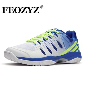 Training shoes FEOZYZ Professional Volleyball Shoes Men Women Size 35 46 Indoor Sneakers For Ping Pong Badminton ANTI SLIP trainers Tennis 0902
