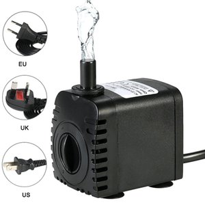 600l   H, 8w Submersible Pump, Suitable for Aquarium, Fish Pond, Garden, Mini Pontoon, 110-240v, 4w