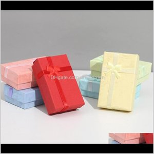 Boxes Packaging Drop Delivery 2021 Assorted Colors Jewelry Sets Display Box Necklace Earrings Ring Xkjes
