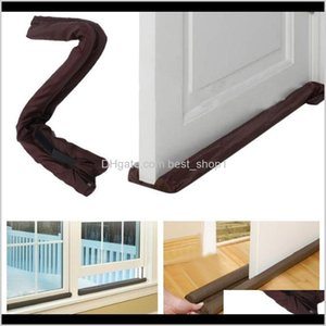 Other Building Supplies Door Dodger Stopper Energy Saving Protector Home Dustproof Doorstop Window Twin Draft Guard Dh0799 Durat Pdy4R