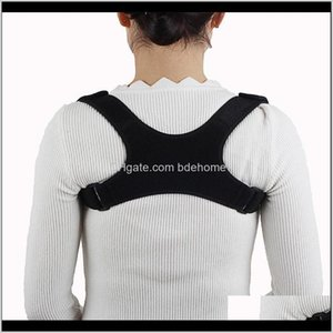 Accessories Fitness Equipment Corrector Protection Back Shoulder Posture Correction Sport Safty Spine Gym Supplies Cp6Aw U8Bej