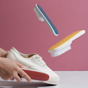 Portable Shoe Brush Cleaner Cleaning White Shoes Sneaker Multifunction Bathroom Kichen Tool Clothing & Wardrobe Storage
