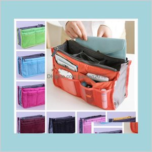 Storage Bags Home & Organization Housekeeping Garden Toiletries Bag Women Insert Handbag Organizer Purse Makeup Case Liner Tidy Travel
